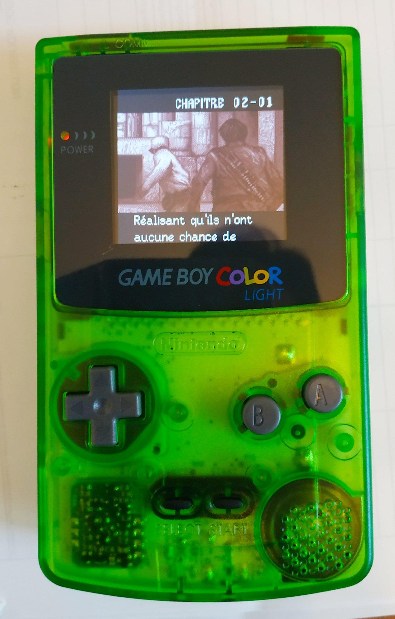 Mod écran IPS rétro-éclairé Game Boy Color, d'une facilité déconcertante. E0jfb910