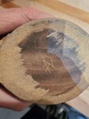 Aldermaston? pottery, AD maker's mark ID help please, from Canada . 20210310