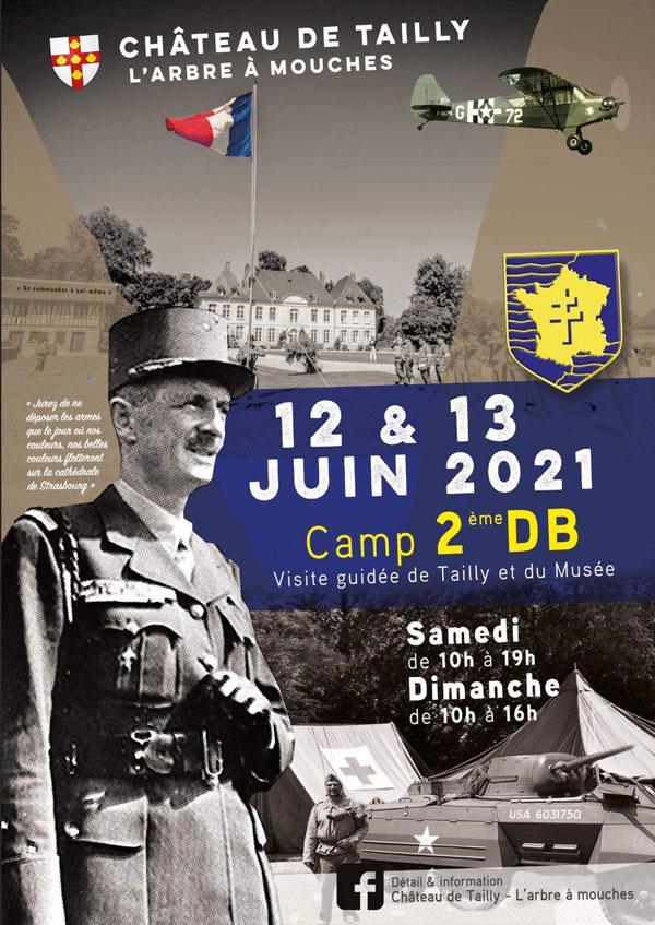 12 & 13 juin : CAMP 2e DB - Château de Tailly  Camp-210