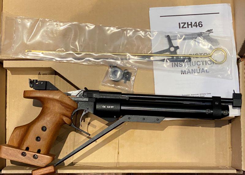 Sold PF - Baikal IZH-46M Air Pistol - $500  Img_2310