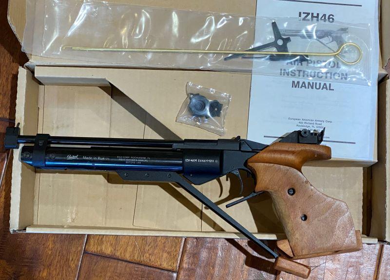Sold PF - Baikal IZH-46M Air Pistol - $500  Img_2311