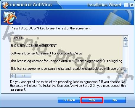 Tuto Comodo Antivirus 2.0 Comodo16