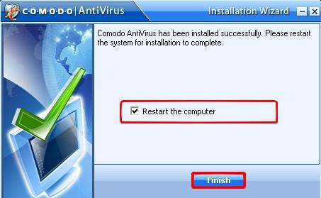 Tuto Comodo Antivirus 2.0 Comodo21