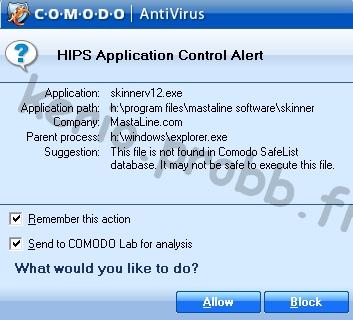 Tuto Comodo Antivirus 2.0 Comodo42