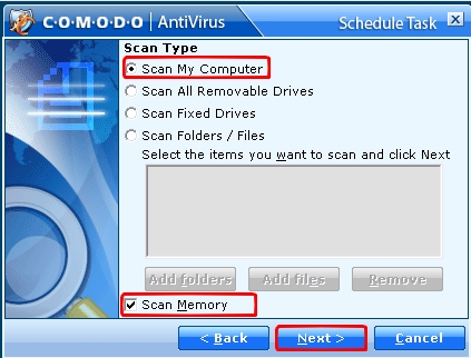 Tuto Comodo Antivirus 2.0 Comodo44
