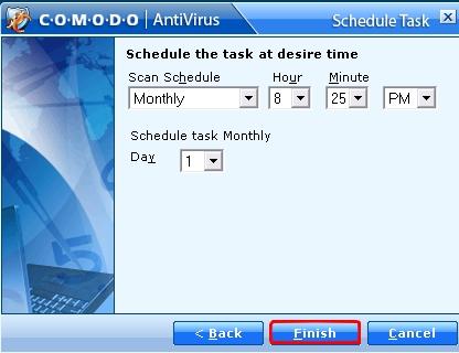 Tuto Comodo Antivirus 2.0 Comodo45