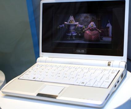 Test de l'Asus Eee PC 4 Go, 7 pouces & 299 euros ! Eee_7011