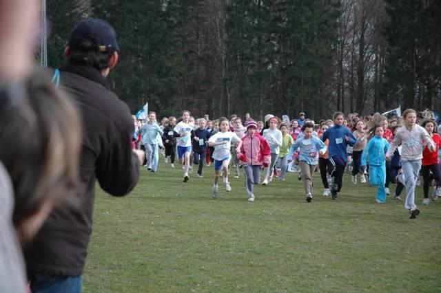 Finale francophone du cross scolaire à Chevetogne 27/02/2008 Finale14