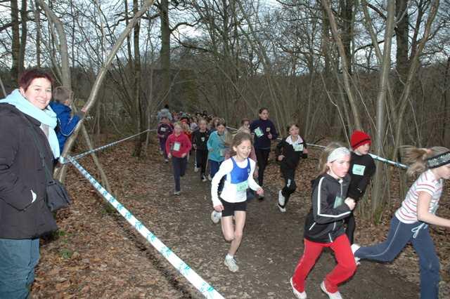 Finale francophone du cross scolaire à Chevetogne 27/02/2008 Finale27