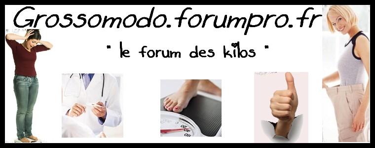GroSSoMoDo - Le forum des kilos !