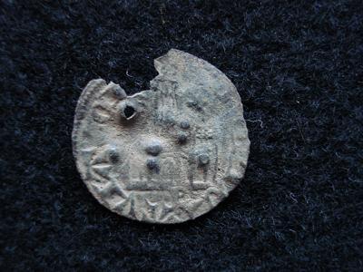 Cornado de Alfonso XI (falso de época) Dsc00210