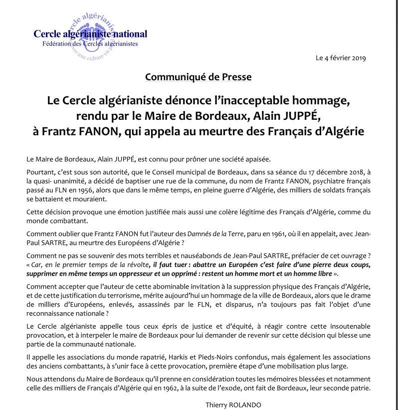 Inacceptable hommage rendu par le maire de Bordeaux, Alain Juppé, à Frantz FANON qui appela au meutre des Français d'Algérie 000_ju10