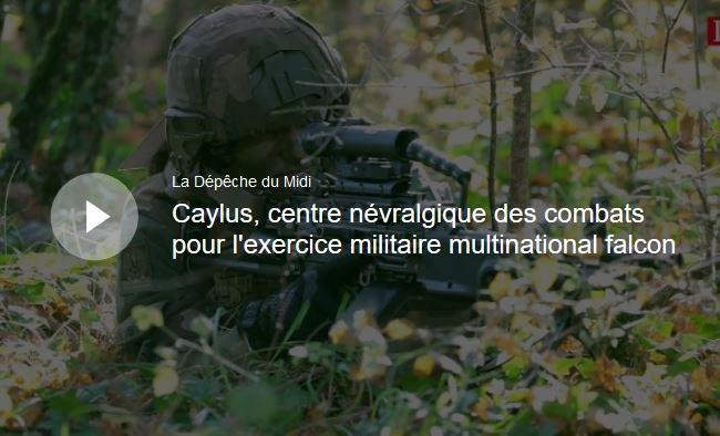 Caylus, centre névralgique des combats 000cay10