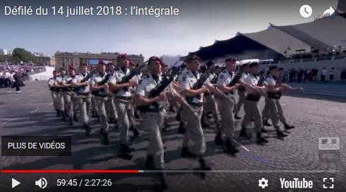 Le Défilé du 14 Juillet 2018 fut a mon avis un des plus terne présenté a date. 00_a_d10