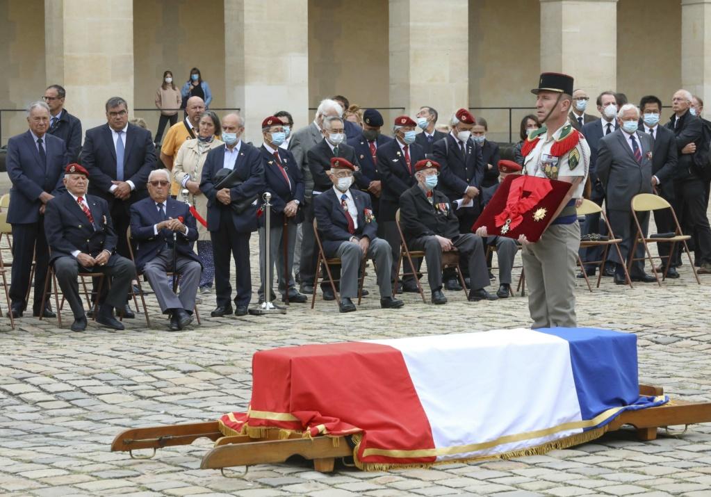 décès du Colonel Jean LUCIANI  05-hom10