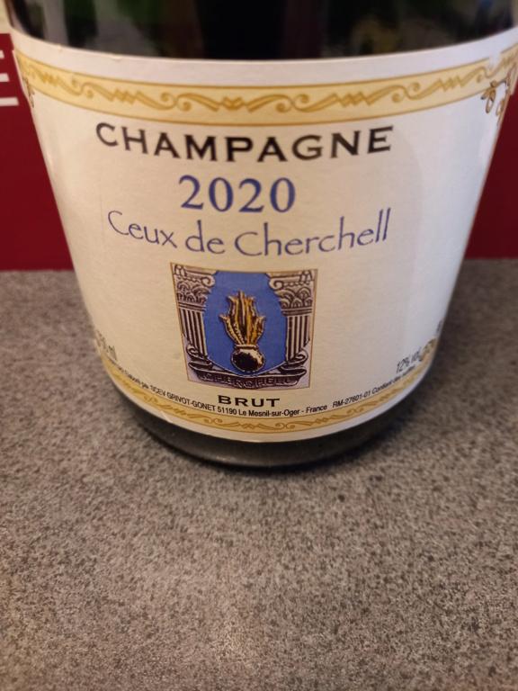 """Champagne cuvée speciale """"Ceux de Cherchell 20210610"""
