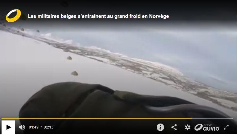 Les militaires belges s'entraînent au grand froid en Norvège  Belge_10