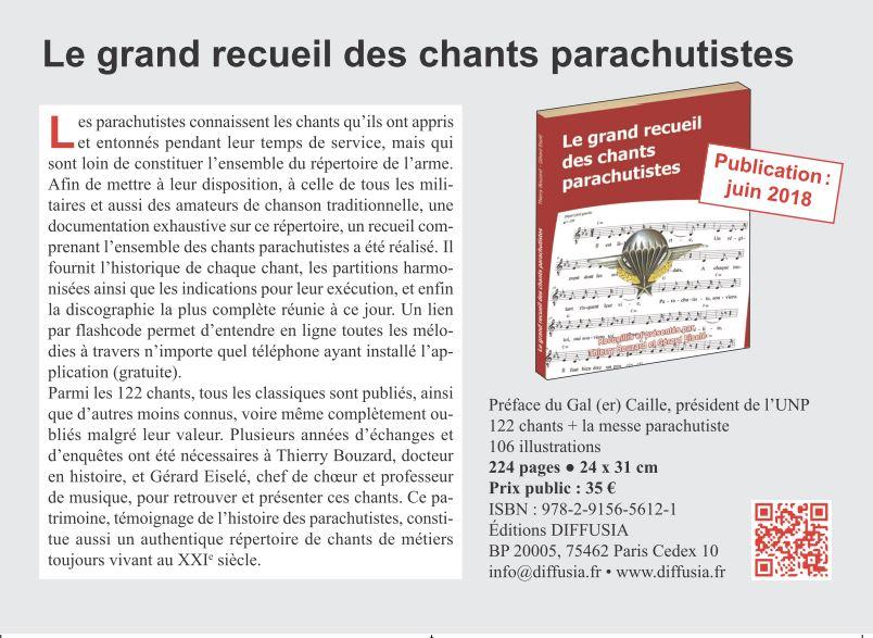 Le choeur des Parachutistes sur la chaîne TVLIBERTE Choeur15