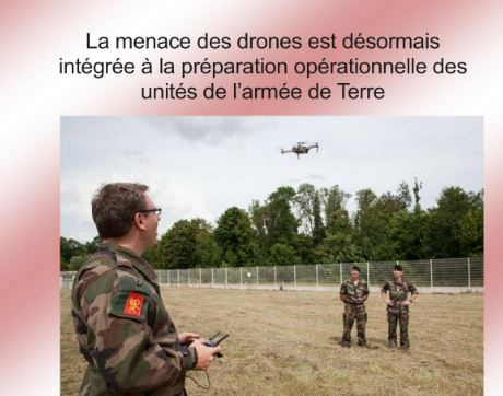 LA MENACE DES DRONES intégrée à la préparation opérationnelle des unités Armée de Terre Drone_10