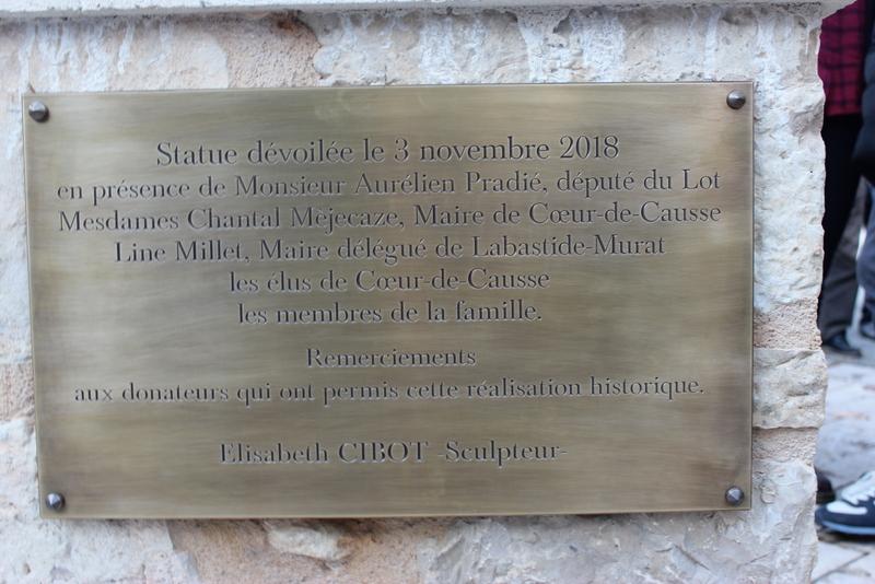 Joachim Murat Inauguration à Labastide-Murat - L'inauguration de la statue en présence de la Musique des parachutistes de Toulouse. Img_9013