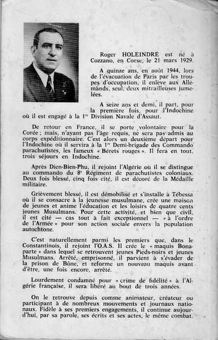 Roger HOLEINDRE alias ''POPEYE'' a rejoint Saint Michel Numzor17