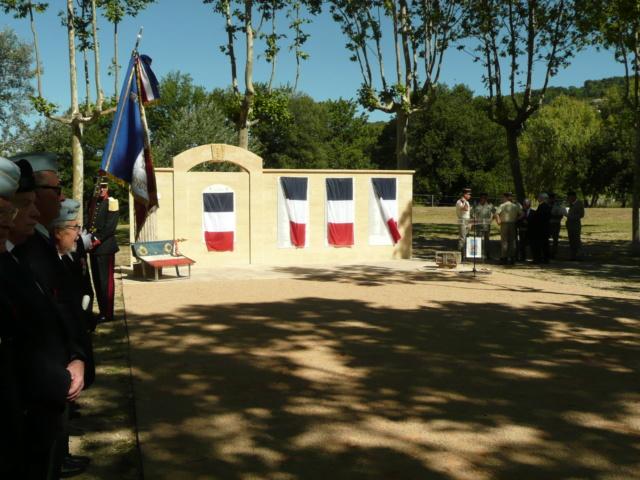 """Mémorial de l'école d'Infanterie Cherchell: """"CEUX DE CHERCHELL"""" érigé le 13 juin 2019 P1210413"""