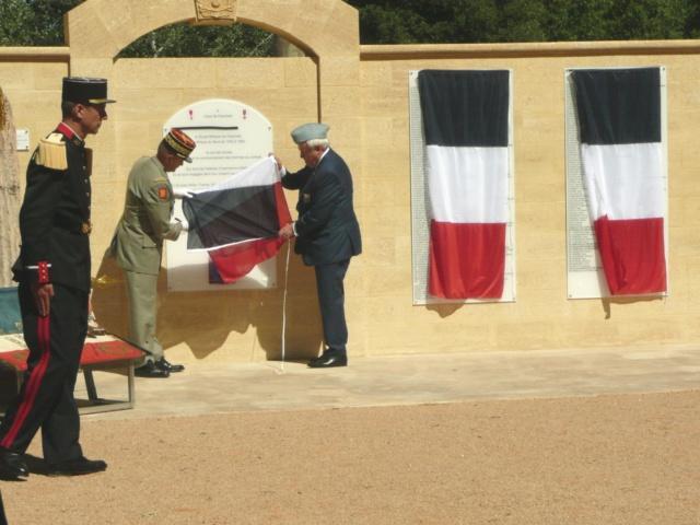 """Mémorial de l'école d'Infanterie Cherchell: """"CEUX DE CHERCHELL"""" érigé le 13 juin 2019 P1210414"""