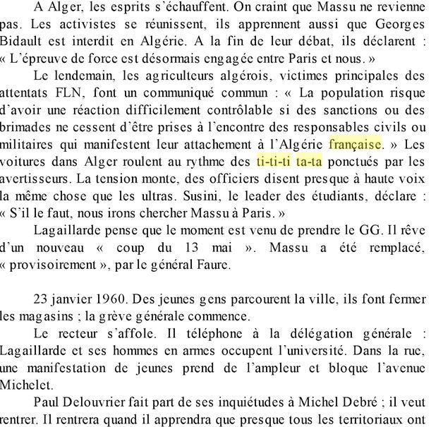 Tititi Tata: les folles soirées de l'Algérie Française Tititi11
