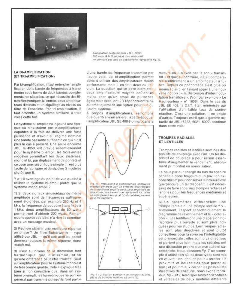 La Technique JBL (Séminaires JBL 1977) Jbl1110