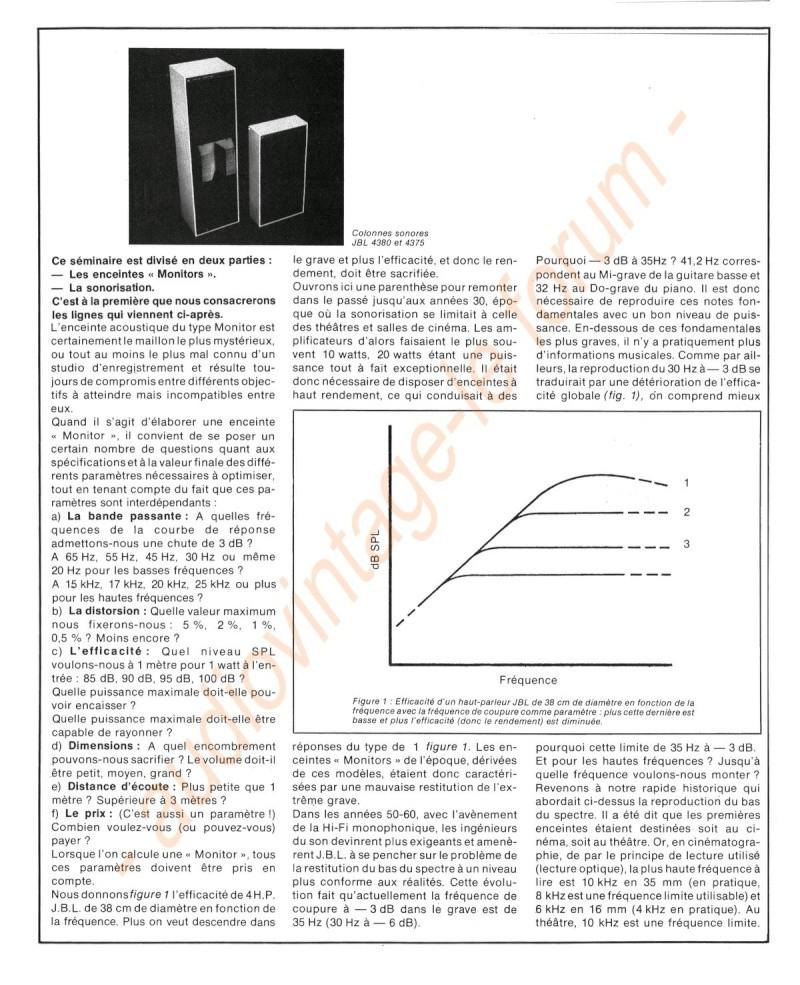 La Technique JBL (Séminaires JBL 1977) Jbl210