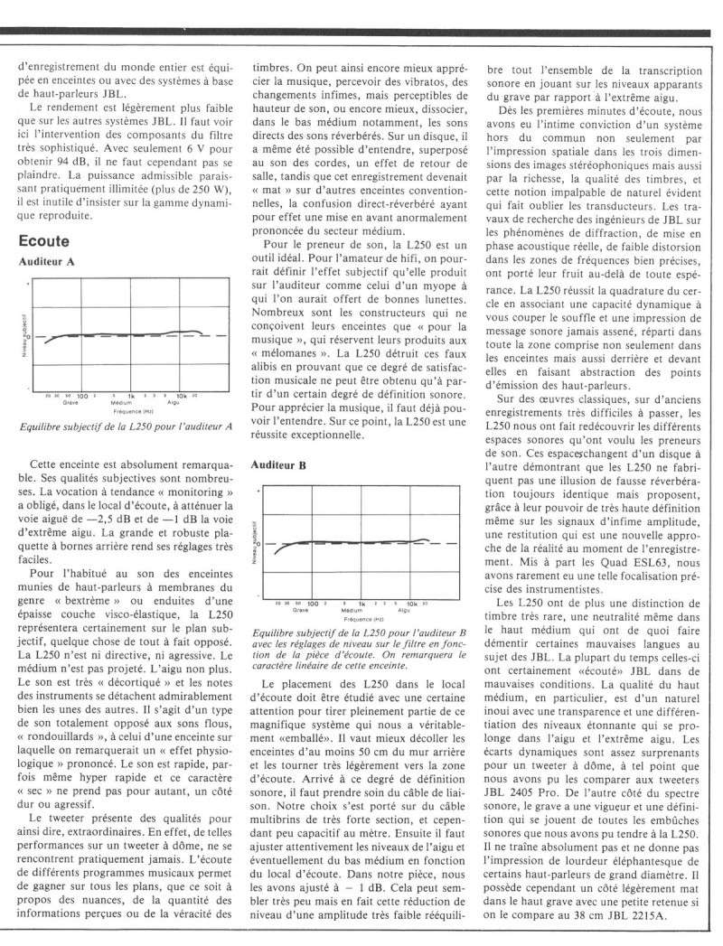 Modèle 250 Ti Limited Edition - Page 5 Jbl25013