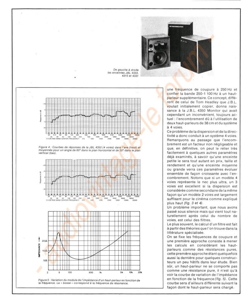 La Technique JBL (Séminaires JBL 1977) Jbl510