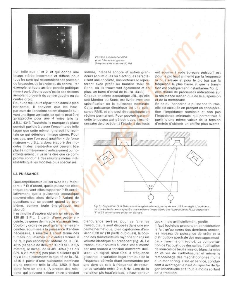 La Technique JBL (Séminaires JBL 1977) Jbl910