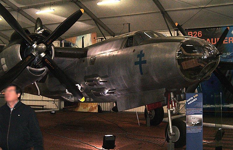 Musée de L'Air et de l'Espace - Le Bourget - Hall 1939/45 B26-0010
