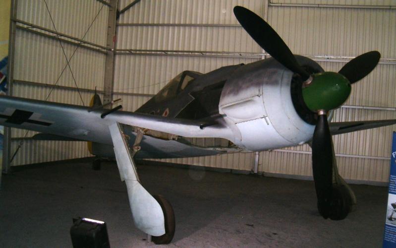 Musée de L'Air et de l'Espace - Le Bourget - Hall 1939/45 Fw-19010