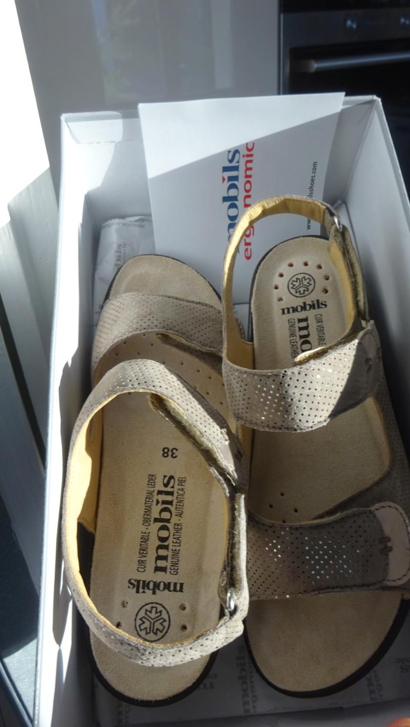 SANDALETTES NEUVES MOBILS (boutique mephisto ) Dsc06910