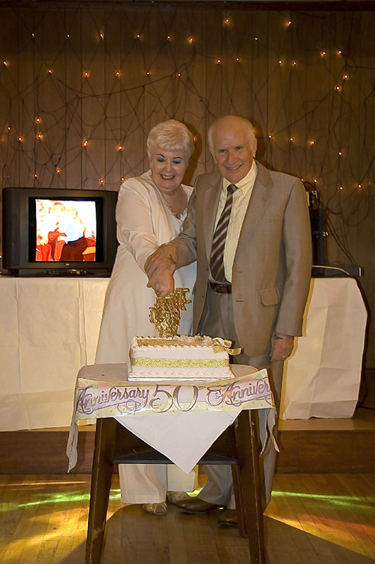 The Golden Wedding Cuttin10