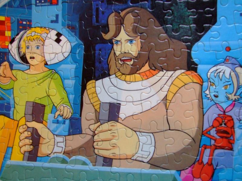 Les puzzles 80's de D.A, séries ou de  gamme de jouets.... Dscf1711
