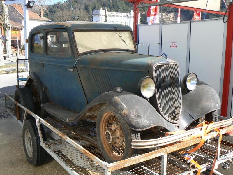 enfin dans le garage P1060212