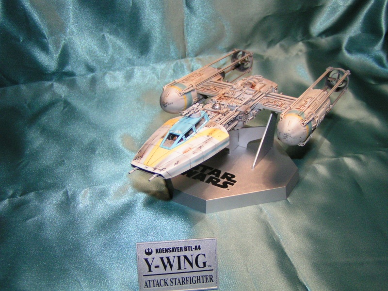y-wing finemolds 1/72 FINI le 11/11 Y-wing14