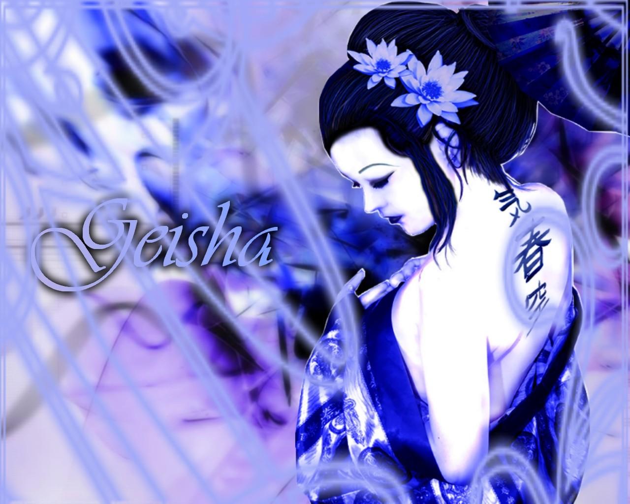 mes créat° diverses Geisha10