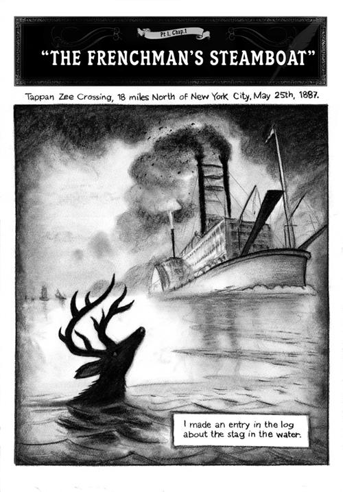 [Chronique] Sailor Twain ou La sirène dans l'Hudson de Siegel 2010-010