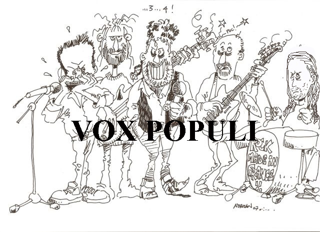 VOX POPULI groupe rock blues bordeaux