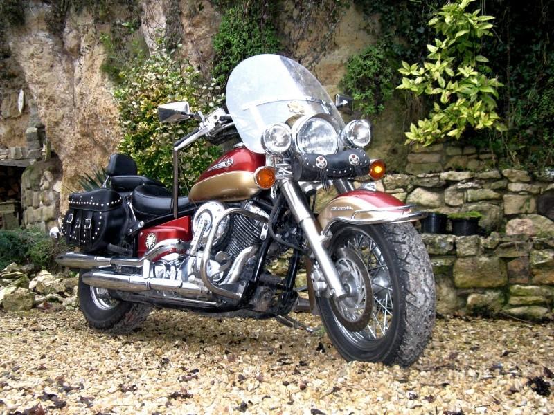 "Superbes moto ""dragstar 650 cc"" 0111"
