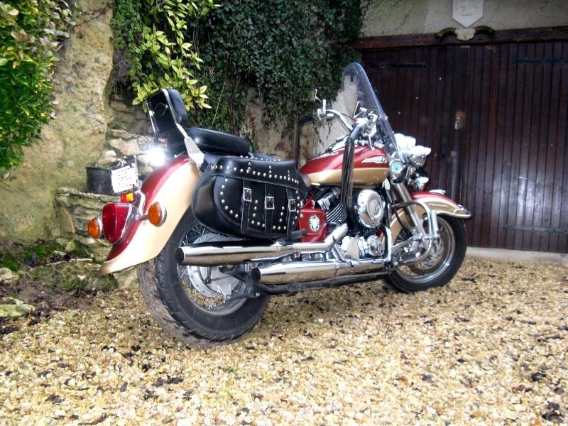 "Superbes moto ""dragstar 650 cc"" 0210"