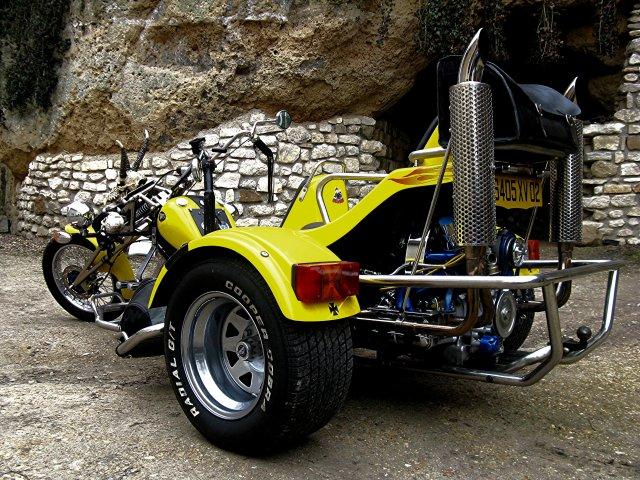 à vendre Trike chopper se conduit avec le permis voiture 111110