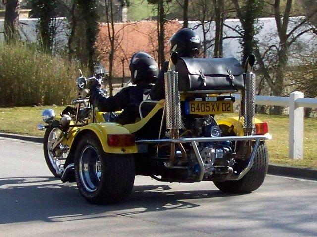 à vendre Trike chopper se conduit avec le permis voiture 111210