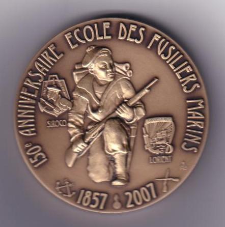 Médaille commémorative du 150ème anniversaire des fusiliers Recto_10