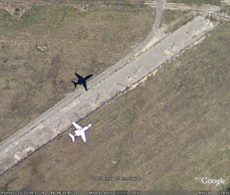 Avion: va pas tarder à se poser. Birmingham Alabama USA Ge_avi10