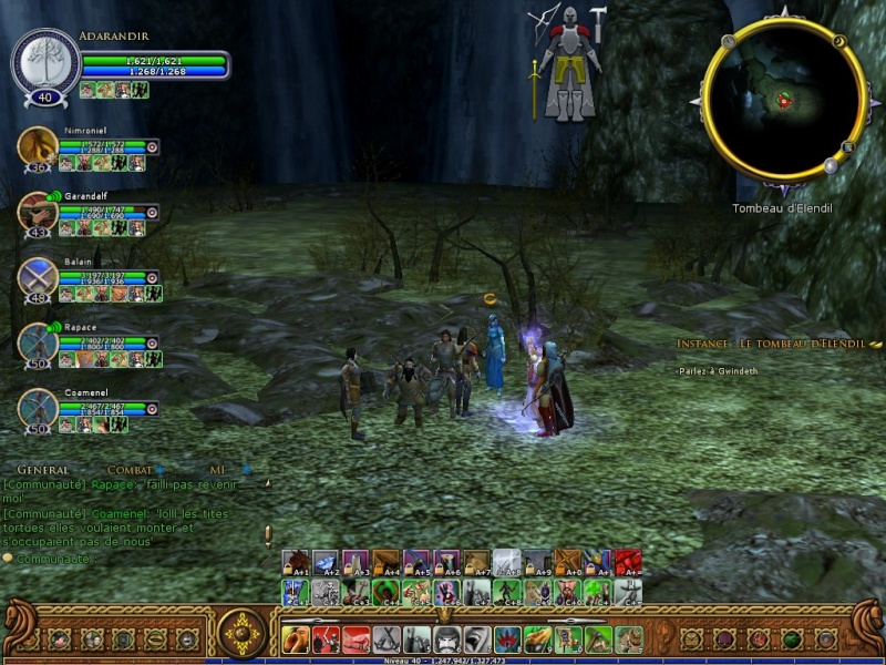 Le Tombeau d'Elendil (screen) Screen24
